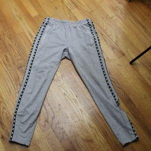 PINK Grey Skinny Track Pants